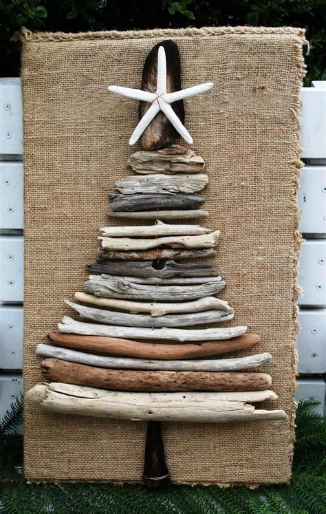 wooden christmas trees  eco style