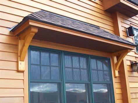 Window Overhang Porches And Exterior Details Timber Creek Post Beam