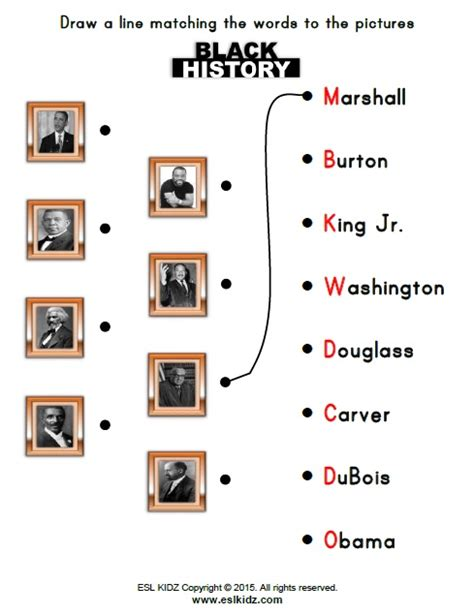 printable worksheets black history month free black history month worksheets for kindergarten