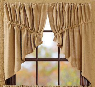 prairie style curtains 1000 ideas about burlap window treatments on pinterest