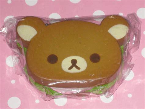 Rilakkuma Sandwich san x squishy thekawaiicupcakes