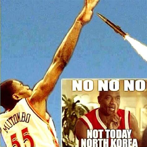 Mutombo Meme - from the fans lots of random jerseys and bacon bacon sports