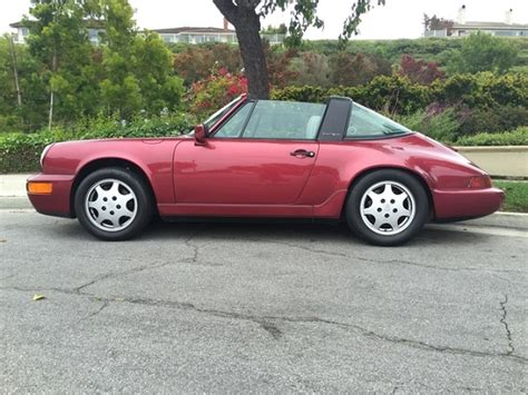1990 porsche 911 red 1990 porsche 911 carrera 2 targa german cars for sale blog