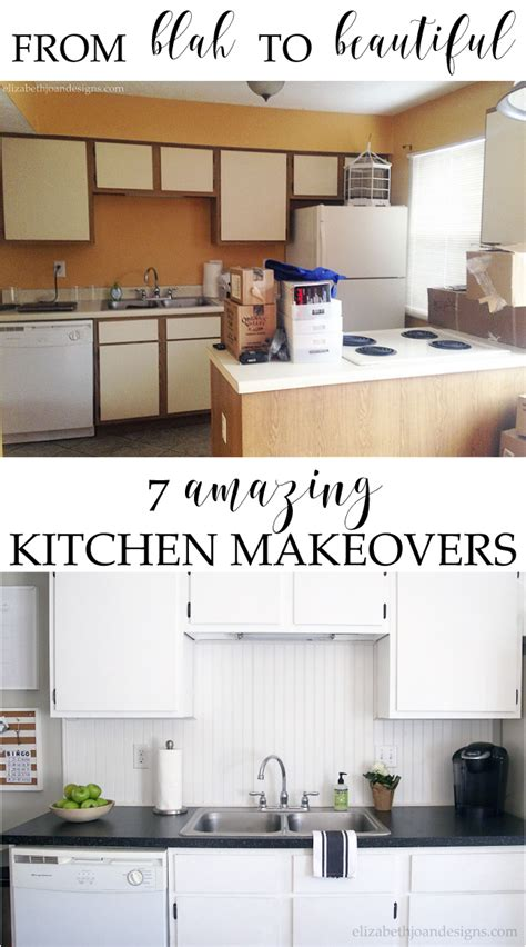 7 Amazing Inside Out Makeovers by 7 Amazing Kitchen Makeovers Elizabeth Joan Designs