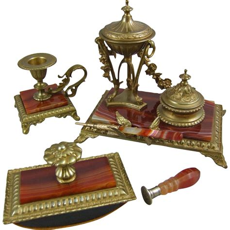Antique Desk Accessories Antique Furniture Vintage Desk Accessories