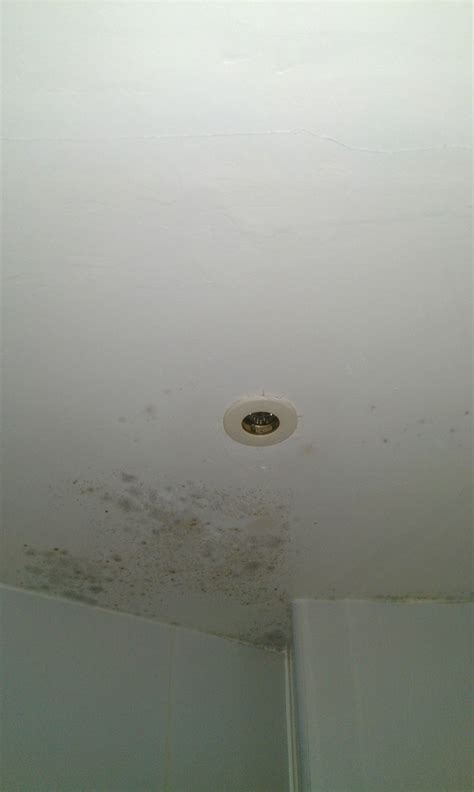 Bathroom Ceiling Plasterboard by Repaint Bathroom Ceiling Plaster Repair Curtain Rail