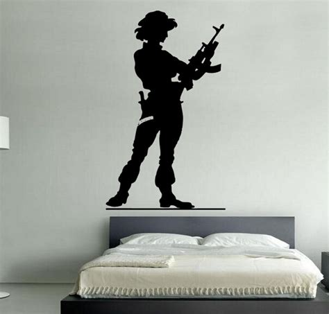 soldier wall stickers wall decal soldier modern wall decals