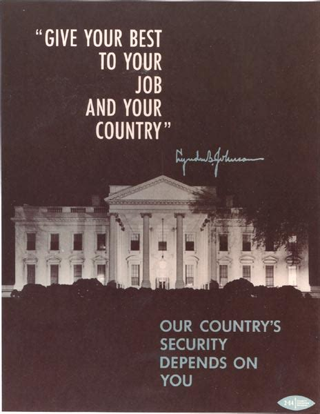 our country s security depends on you