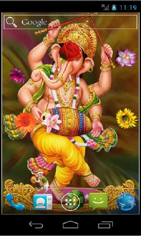 Lord Ganesha Live Wallpapers by Ganesha Hd Live Wallpaper Android Apps On Play