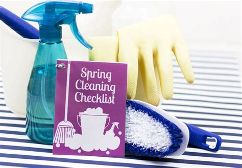 when does spring cleaning start mini printable spring cleaning checklist