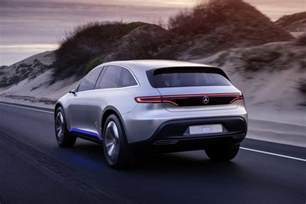 Mercedes Suv Mercedes Concept Eq The Electric Suv Of The Future