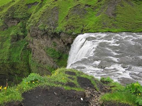 famous waterfalls skogafos the most famous waterfall in iceland