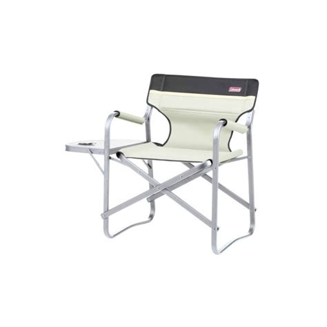 Coleman Deck Chair With Folding Table by Coleman Lightweight Alloy Deck Chair With Side Table