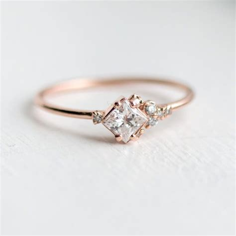 25 best ideas about dainty engagement rings on