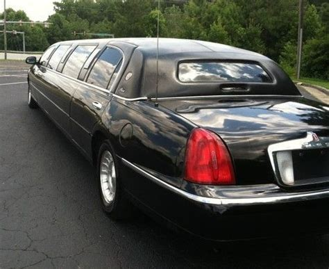 2000 lincoln limo sell used 2000 lincoln towncar limo in urbandale iowa