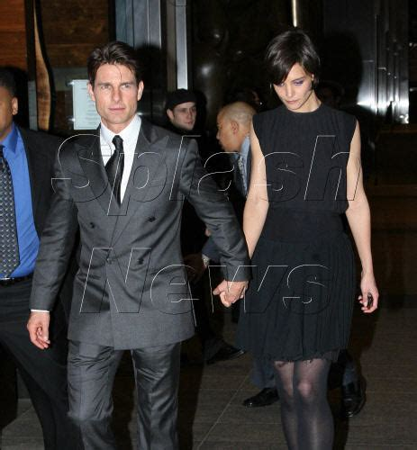 Tomkat To Take Manhattan by Tom Cruise At Valkyrie Premiere The Gossip