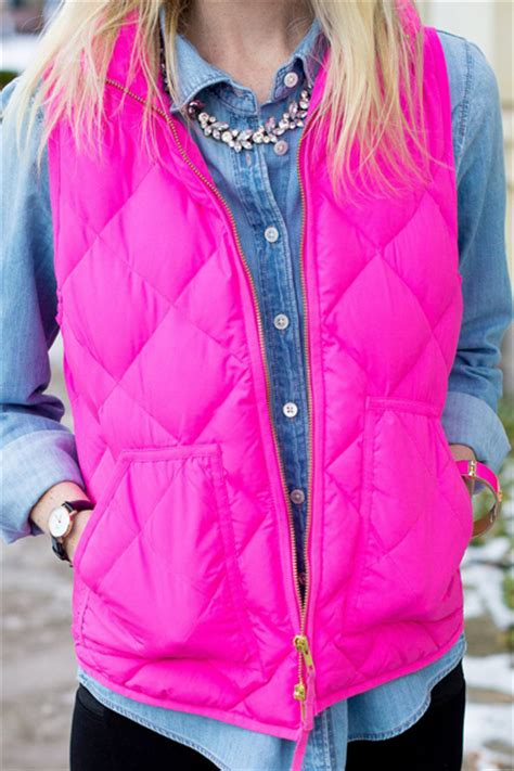 Lust List Shearling Puffer Vest by Prepping For Fall My Shopping List