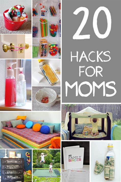 diy home hacks 20 hacks for moms handy diy