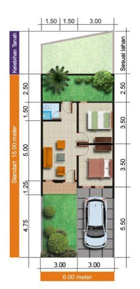 Rumah Citra 5 Ukuran 6x12 5 M perumahan baru waru juanda sedati dan damarsi