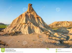 Desert House Plans Bardenas Reales Navarra Spain Stock Photo Image 49666345
