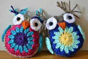 Been making these extremely cute owls you can find the free pattern