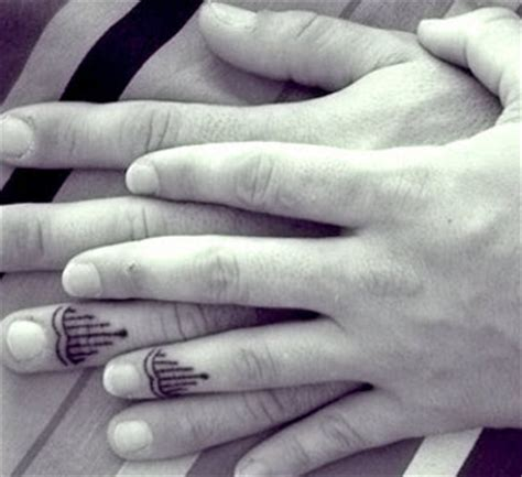 17 apart roundup matching tattoos for couples