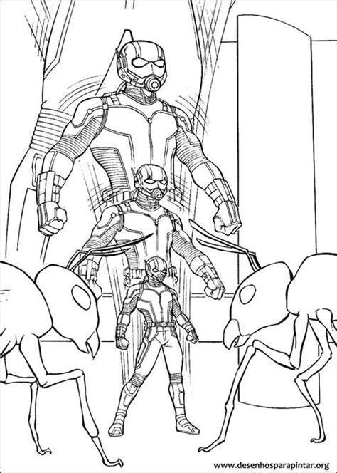 lego ant man coloring pages homem formiga desenhos para colorir imprimir e pintar do