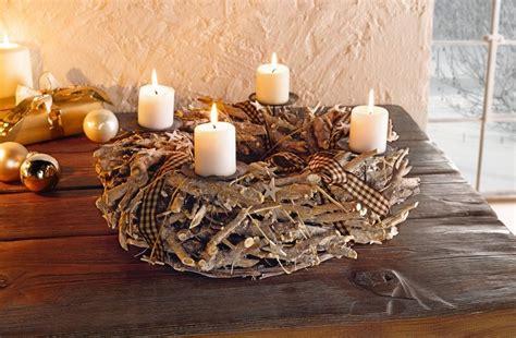 Adventskranz Aus Wurzelholz by Adventskranz White