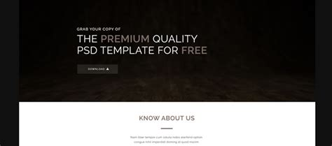 Microsite Templates Free by Free Microsite Templates Images Template Design Ideas