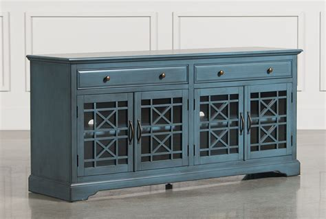 Item Vans The Wall Seri 70 1 annabelle blue 70 inch tv stand living spaces