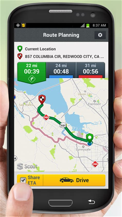 scout gps apk scout gps navigation traffic apk android free app feirox