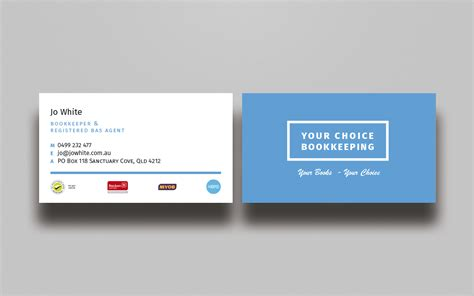 Bookkeeper Business Cards Templates by Modern Business Business Card Design For Your