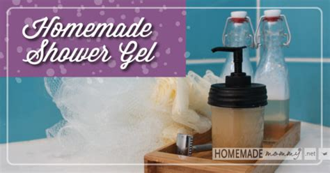 diy shower gel easy shower gel