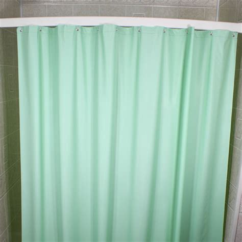 blue vinyl shower curtain kartri 6 gauge vintaff vinyl shower curtain w metal