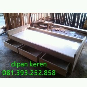 Dipan Kayu Akasia dipan minimalis kayu modern mbarepjati 0813 9325