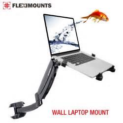 Desk Mounted Laptop Stand Swivel Upto 15 6 Quot Wall Laptop Mount 10 24 Quot Monitor Lcd Arm Mount Stand Ebay