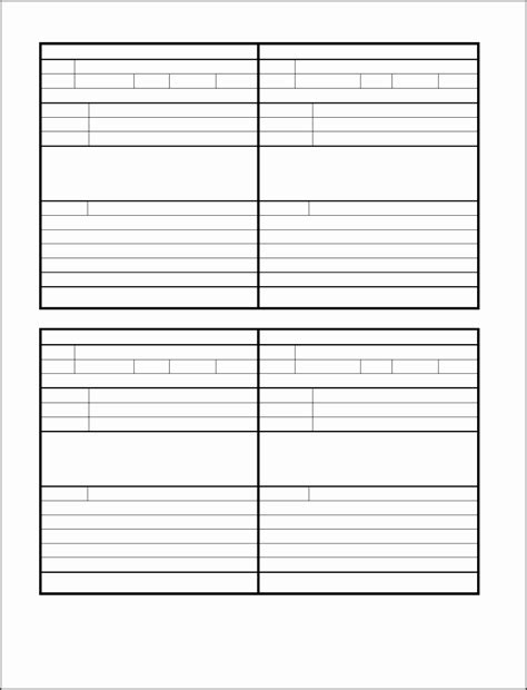 While You Were Out Form Template