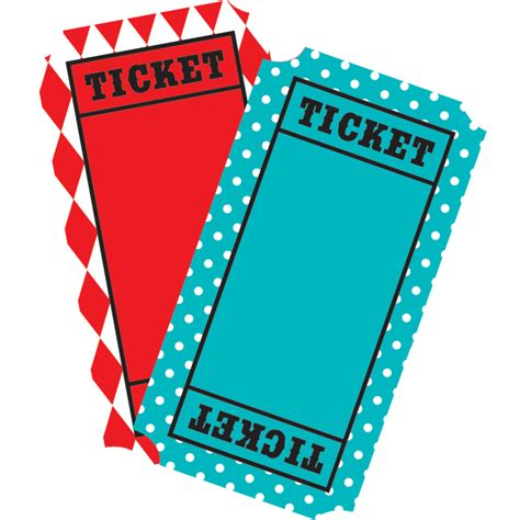 carnival tickets mini accents tcr5802 teacher created