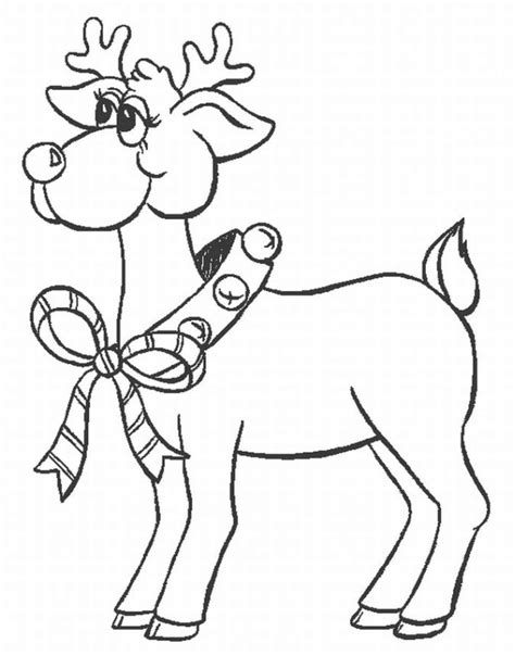 Reindeer Coloring Page | reindeer coloring pages coloring pages to print
