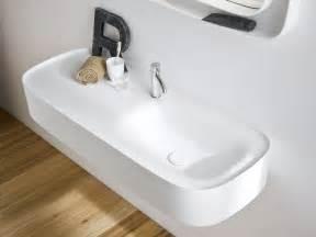 lavabo suspendido de corian 174 con encimera colecci 211 n fonte