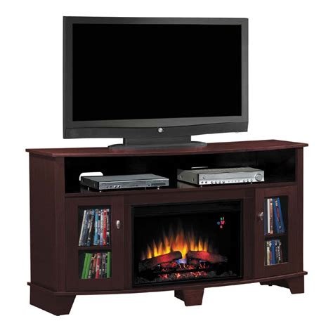 classic la salle 62 inch tv stand with electric