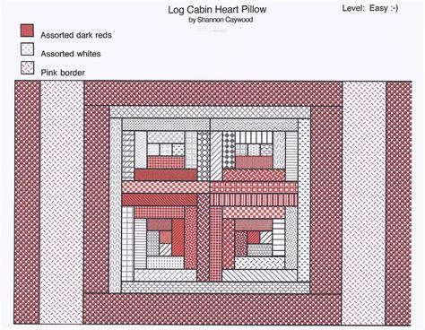 log cabin variation quilt blocks