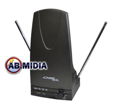 Antena Tv Ab 20 antena interna digital lificadora receptor tv uhf vhf