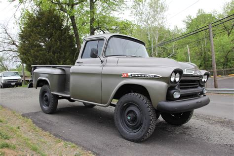 antique ls for sale 1959 chevy napco 3600 apache 4x4 vintage mudder