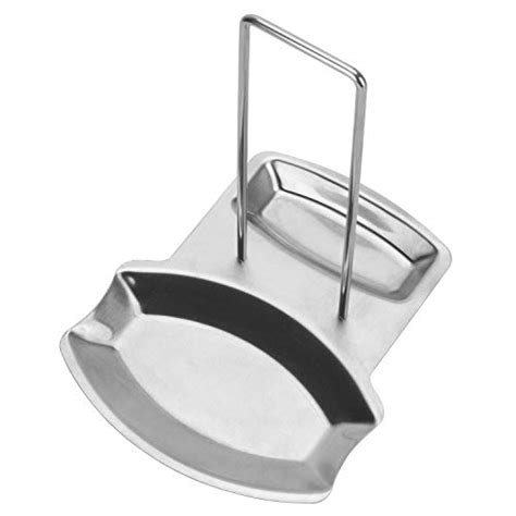 Pot Lid Tool pot lid 1 pcs stand holder spoon rest stainless steel