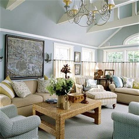 Grey Blue Living Room by Southern Charm Home Decor Yearning For