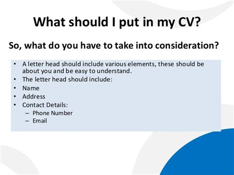 what do i put in a cover letter how to write a cover letter