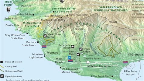 san francisco golf map the bay area s national park expands south quest kqed