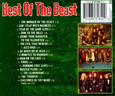 iron maiden best of the beast iron maiden best of the beast cd nuevo original sellado