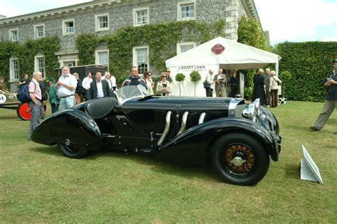 mercedes ssk count trossi the trossi mercedes shines at the cartier style et